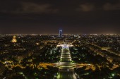 Parigi di notte — Foto Stock