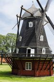 Alte windmühle — Stockfoto