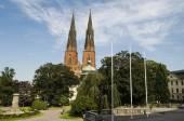 Swedish town view — Stock Photo