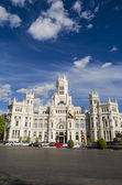 Famous palace in Madrid — Stock Photo
