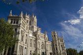Palacio en Madrid — Foto de Stock