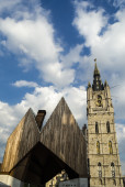 Gent city view — Foto Stock