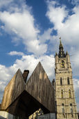 Gent city view — Fotografia Stock