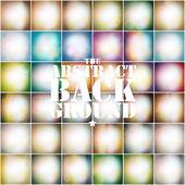 Sada měkké barevné abstraktní pozadí. vintage stylem pozadí vektor — Stock vektor