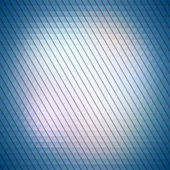 Colorful blue geometric background, abstract triangle pattern vector — Wektor stockowy