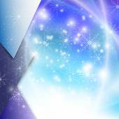 Winter background with snowflakes. Abstract winter design and website template, abstract pattern vector — Stockvector
