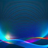 абстрактный фон волны — Cтоковый вектор