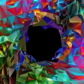 Abstract Triangle Background — Stock Photo