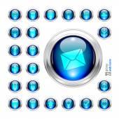 Configurar icon — Vetor de Stock