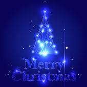 Vector Christmas Tree — 图库矢量图片