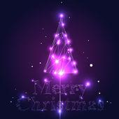 Vector kerstboom — Stockvector