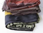 Thailand Isan Fabrics — Stock Photo