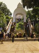 Tempel-Loei-Kunstform Kultur Thailand — Stockfoto