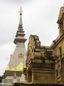 Templet Thai Loei Thailand — Stockfoto