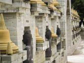 Roi Et Art tempel Thailand — Stockfoto