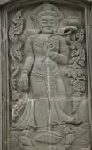 Roi Et arte Tempio Thailandia — Foto Stock