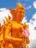 Thai art form of wax(Ubon Candle Festival 2014) — Stockfoto