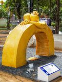 Thajské umění vosku (Ubon svíčka Festival 2014) — Stock fotografie