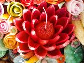Forma de arte tailandesa de cera (Ubon vela Festival 2014) — Fotografia Stock