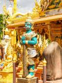 Statues Temple Thailand — Stock Photo