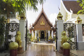 Thailand Temple And Statues — Stock Photo
