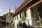 Tayland tapınak ve heykeller — Stok fotoğraf