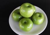 Manzanas verdes — Foto de Stock