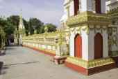 Wat Phra That Phanom Nakhon Phanom — Foto de Stock