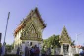Cerimônias religiosas e ordenação de homens para um monge de Isaan Tailândia — Fotografia Stock
