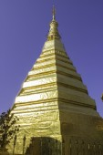 Places of worship and temple art of Thailand. — Stock Photo