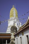 Places of worship and temple art of Thailand. — Stockfoto