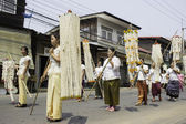 Rice Wreaths Festival,THAILAND — Fotografia Stock