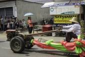 Rice Wreaths Festival,THAILAND — Zdjęcie stockowe