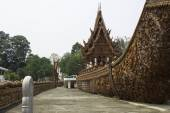 Places of worship and temple art of Thailand. — Foto Stock