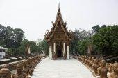 泰国的崇拜和寺庙艺术的地方. — 图库照片