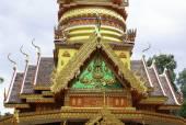 "Wat Phupalansung July 6 2015:""Places of worship and temple art of Thailand"" Ubonratchathani,Thailand — Stock Photo"