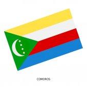 Drapeau national des Comores — Photo