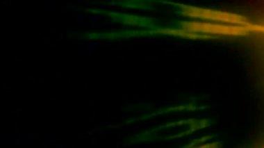 Hintergrund: roter Blitz — Stockvideo