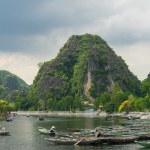 Tam Coc, Ninh Binh, Vietnam - September 14, 2014. — Stock Photo #57880909