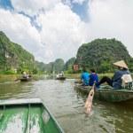 Tam Coc, Ninh Binh, Vietnam - September 14, 2014. — Stock Photo #57881059