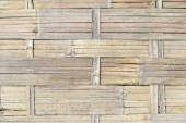 Weave of bamboo background texture — Stock Photo