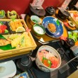 Japanese food models made of resin and plastic — Stockfoto #63343685