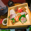 Japanese food models made of resin and plastic — Stockfoto #63343687