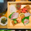 Japanese food models made of resin and plastic — Stock Photo #63343743