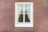 White color vintage style window — Stock Photo