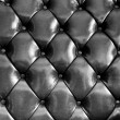 Close up black luxury buttoned leather — Stock Photo #62782801