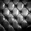 Close up black luxury buttoned leather — Stock Photo #62782951