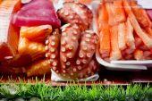 寿司のための原料 — ストック写真