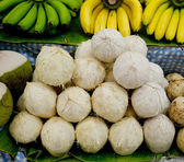Tender and Fresh Coconut in the market — Stock Photo