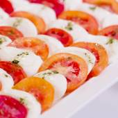 Appetizers and finger food - closeup — Stock Photo